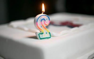 Τα 2α γενέθλια μας